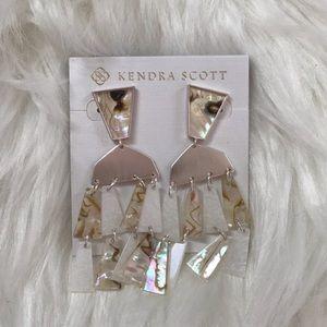 Kendra Scott Silver Rechelle Earrings